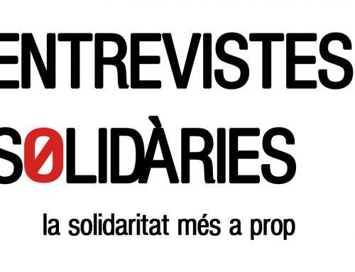 """L'Associació Quilòmetre Zero estrena un nou espai anomenat """"Entrevistes Solidàries"""" a la seva pàgina web"""